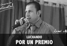 Luchando por un premio | Leonel Muñoz