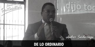 De lo ordinario a lo extraordinario | Andres Saldarriaga