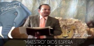 Maestro Dios espera mucho de ti │ Julio Llinas