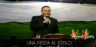 Una fiesta al estilo de Jesús - Fernando Lopez