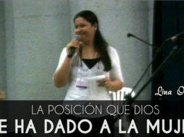 La posición que Dios le ha dado a la mujer - Lina Ocampo