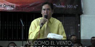 Así como el viento es el Espíritu de Dios - Victor Morales