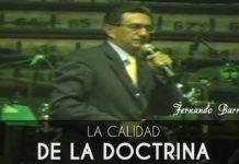 La calidad de la doctrina - Fernando Barragan