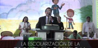 La escolarización de la Escuela Dominical - Balbino Vasquez
