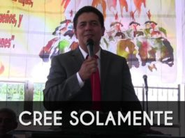 Cree solamente - Jhon Jairo Garcia