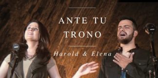 Letra Ante tu trono de Harold y Elena