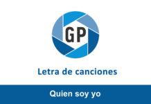 Letra Quien soy yo de Marcos Vidal